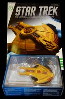 Star Trek The Official Starships Collection #33 Cardassian Hideki  Class - Pre-Owned
